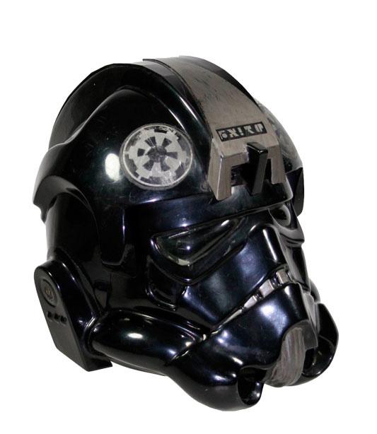 Tie Fighter Helmet – Prop Store - Ultimate Movie Collectables Tie Fighter Pilot Helmet