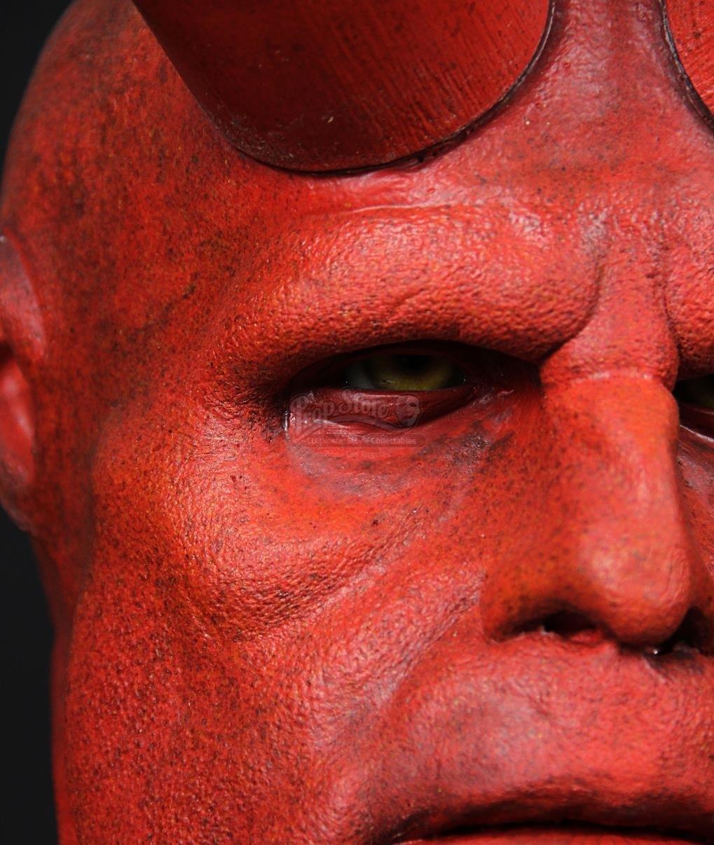 Hellboy 2004 Hellboy Ron Perlman Facial Appliance
