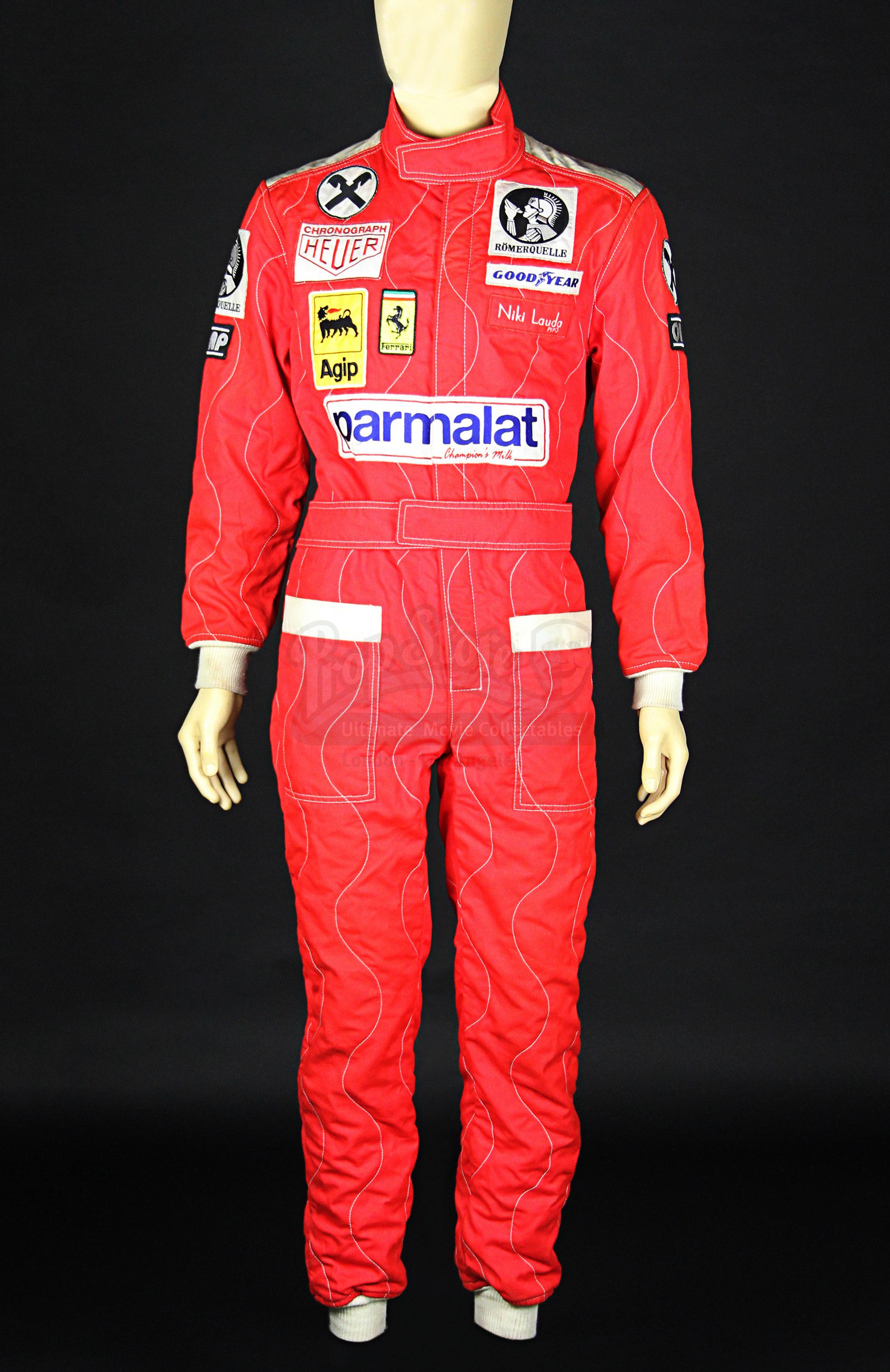Rush Niki Lauda S Daniel Brühl Ferrari Fire Racing Suit Rc018 Current Price 3600