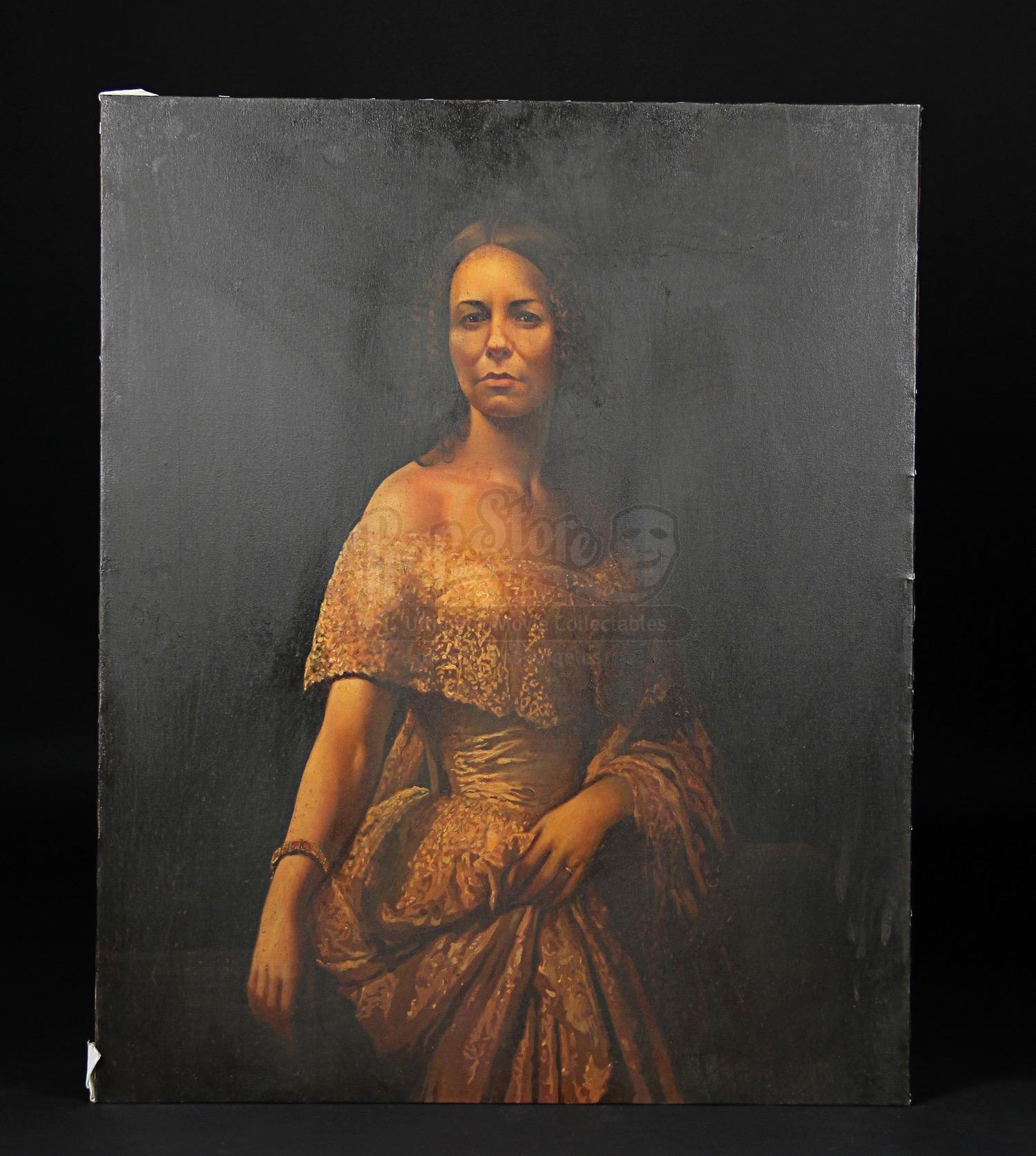 THE WOMAN IN BLACK - Portrait of Jennet Humfrye (Liz White