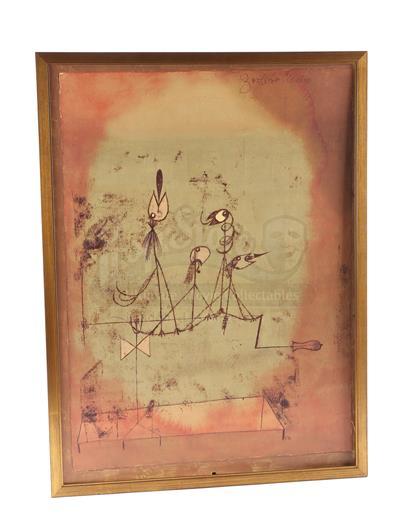 Twittering Machine >> Twittering Machine Painting Current Price 100