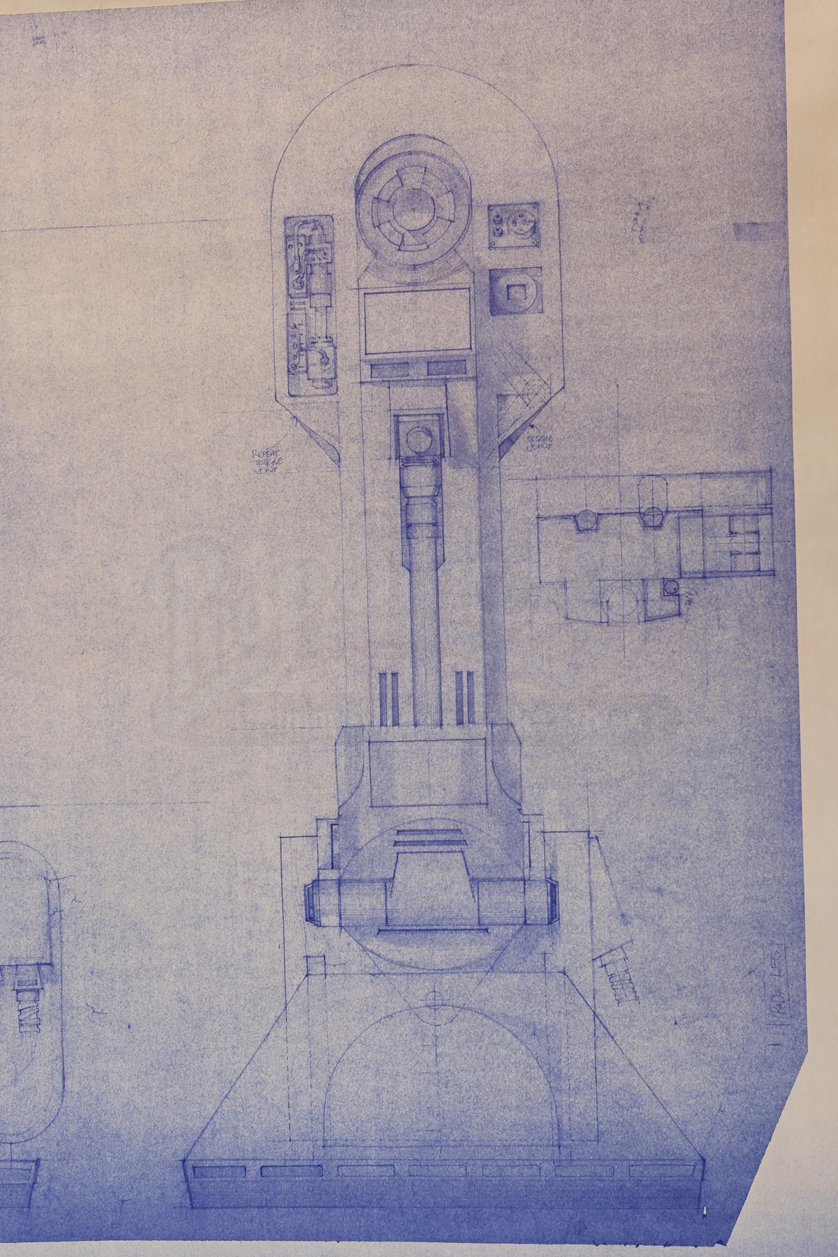 Star wars ep iv a new hope r2 d2 legs blueprint current price lot 31 malvernweather Image collections