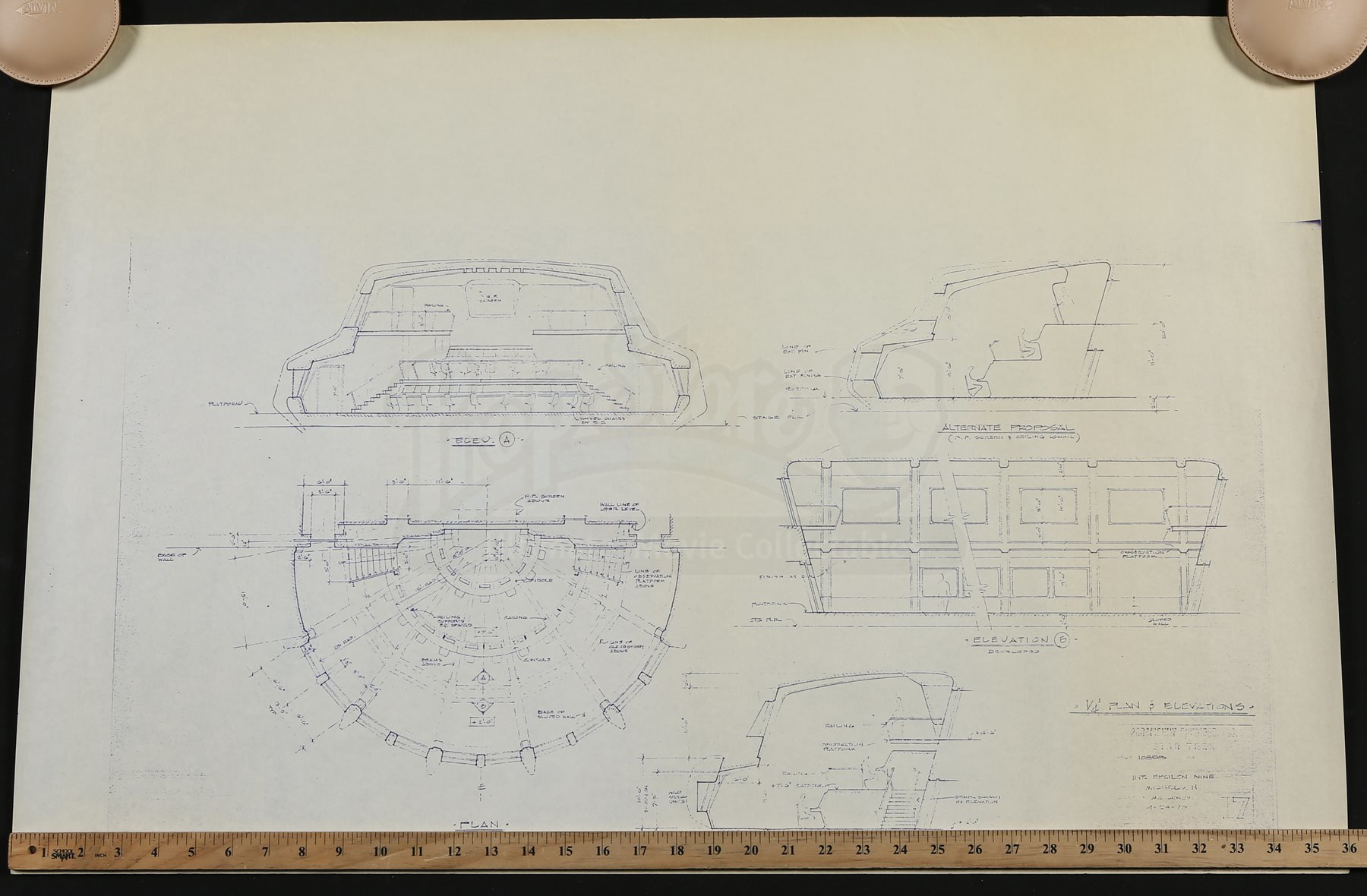 Star trek the motion picture epsilon nine interior for Blueprint cost
