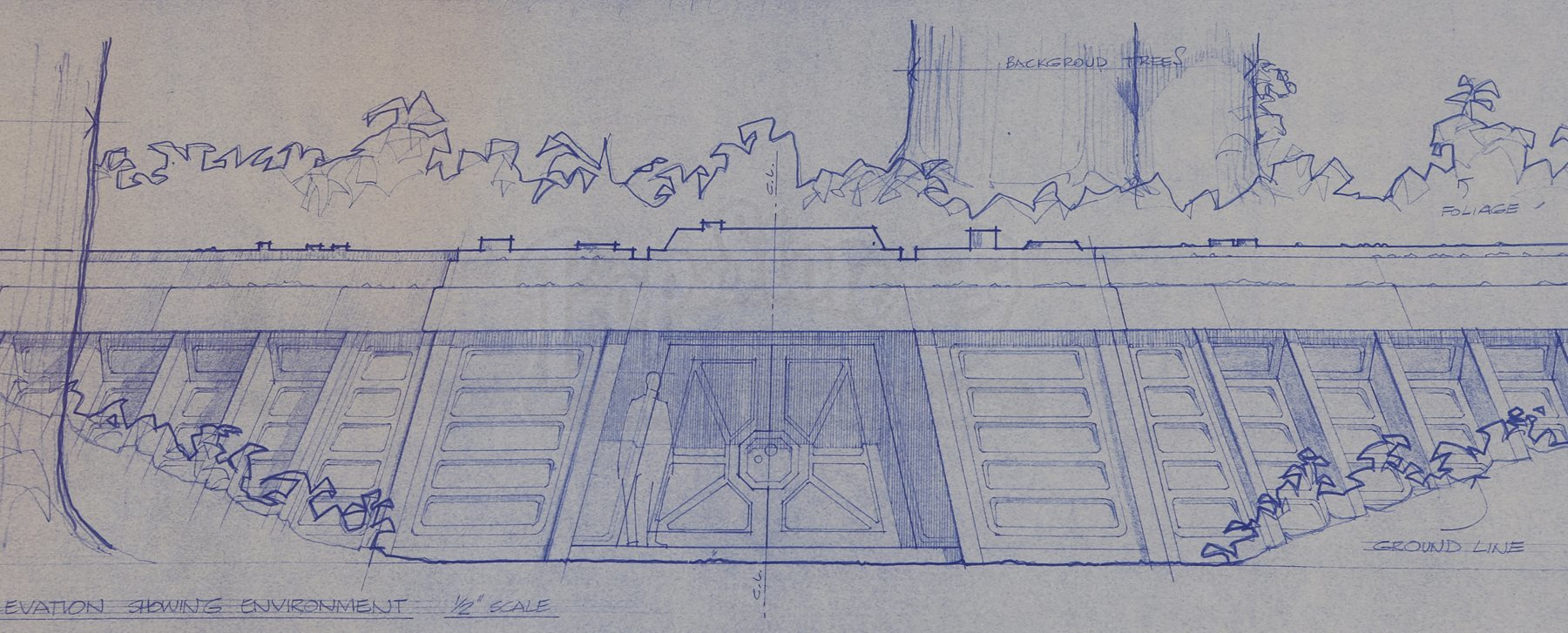 Star wars ep vi return of the jedi bunker site plan section lot 67 malvernweather Choice Image