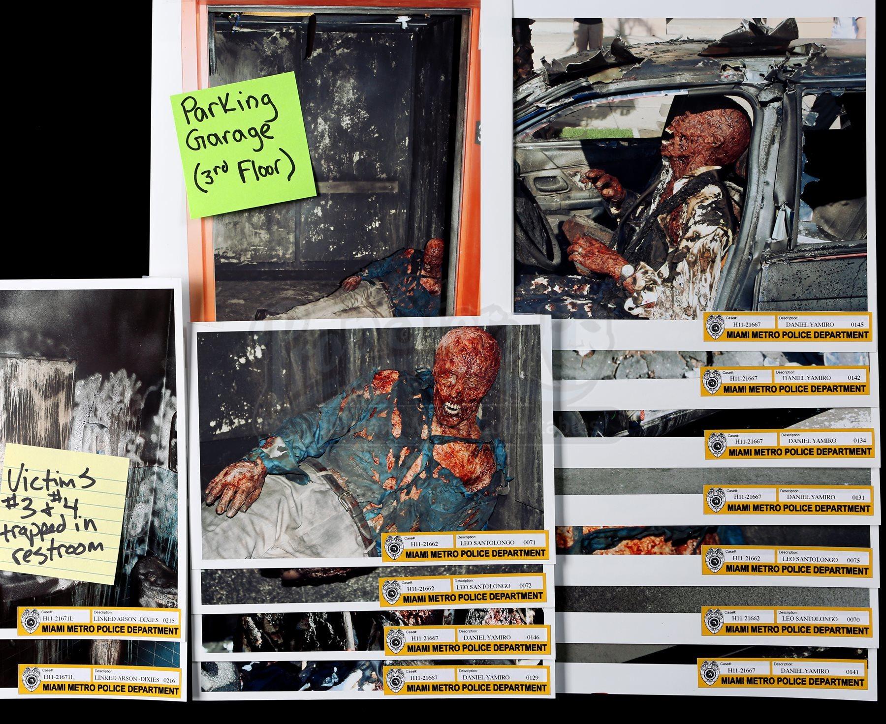 SEASON 7 - Crime Scene Photographs - Current price: $300