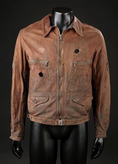 8d7d23c862e Sergeant Miles  (Scott Eastwood) Leather Jacket with SFX Bullet ...