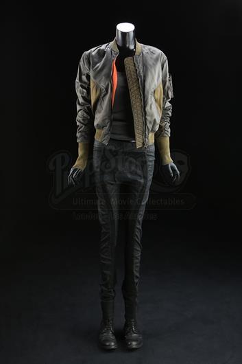 Major S Scarlett Johansson Bomber Jacket Costume And Medi Packs Current Price 5600