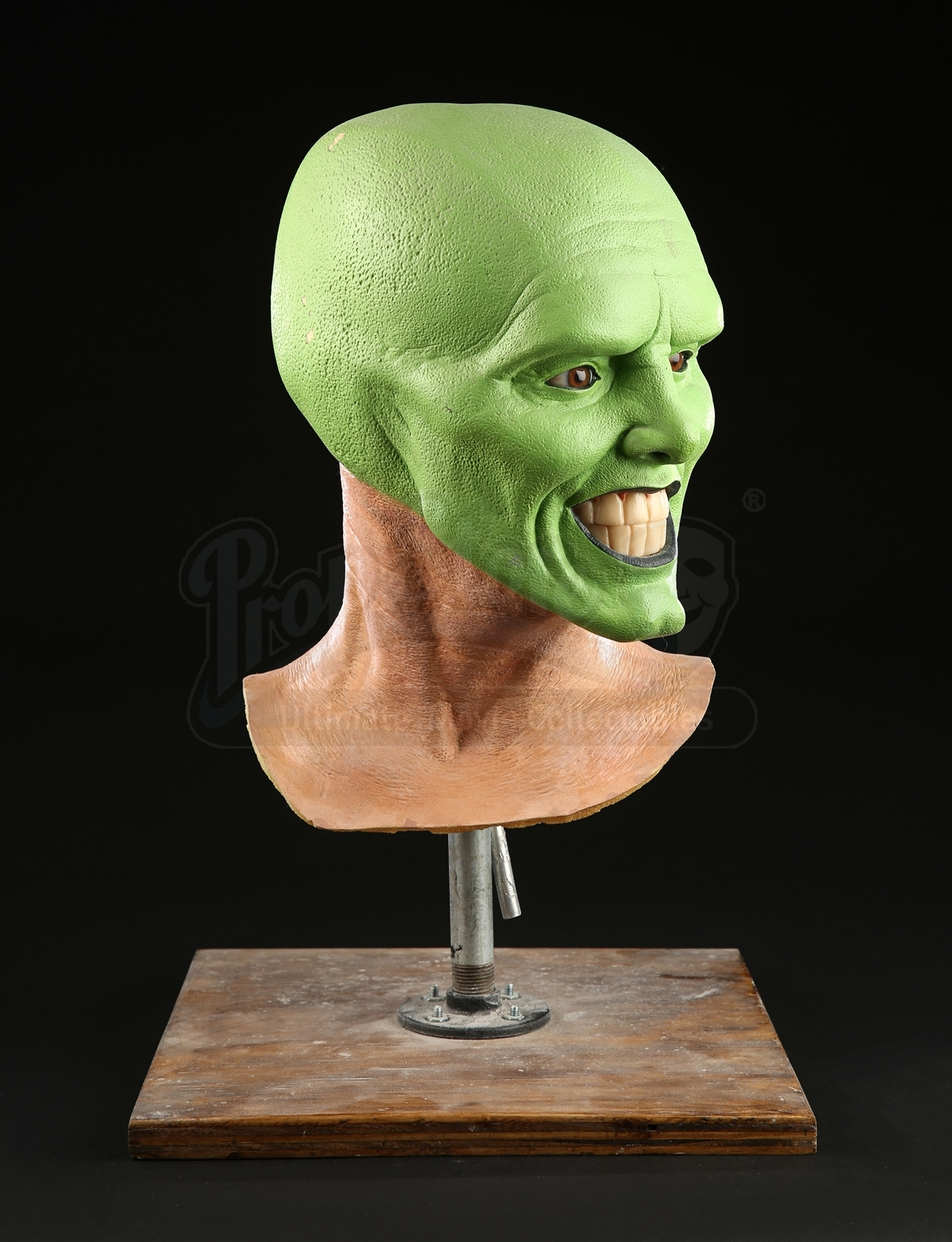 The Mask 1994 The Mask Jim Carrey Reference Head Current Price 4100