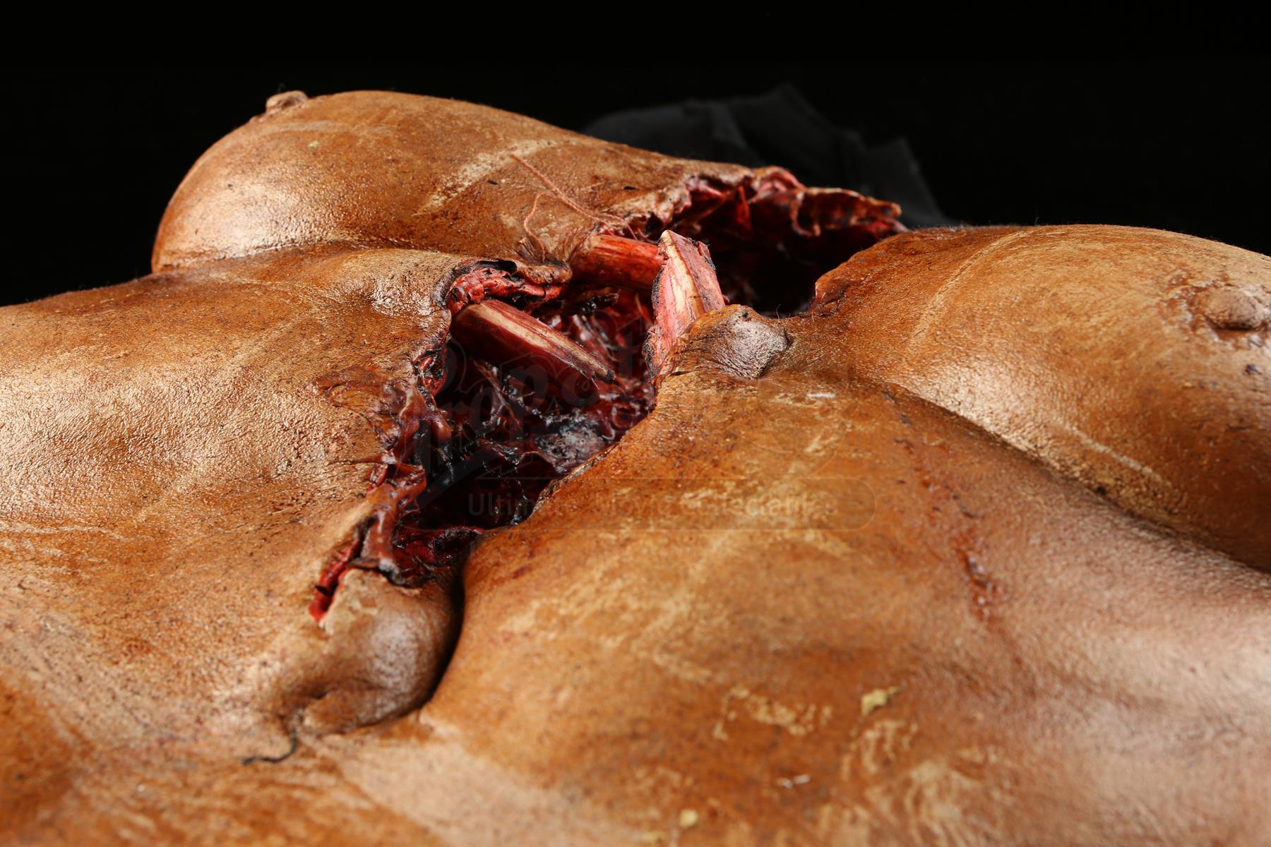 MY BLOODY VALENTINE 3D 2009 Female Torn Chest Cavity