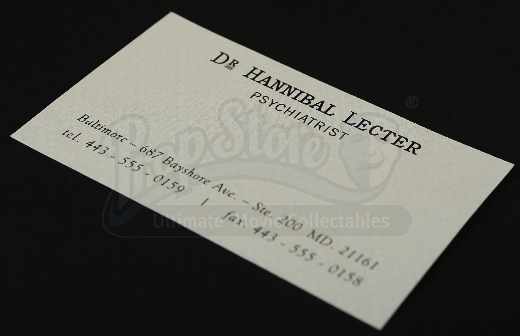 HANNIBAL - Hannibal Lecter\'s (Mads Mikkelsen) Business Card ...