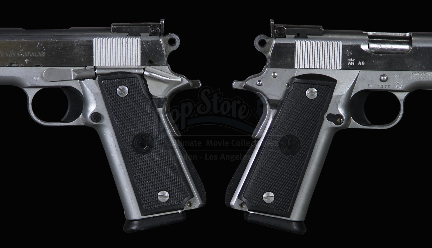 Hitman 2007 Agent 47 S Timothy Olyphant Pistols With Silencers Current Price 7000