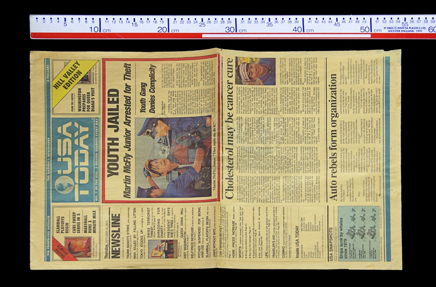usa today and the future of The best content related to back to the future as the anniversary of marty mcfly's  epic trip is marked.