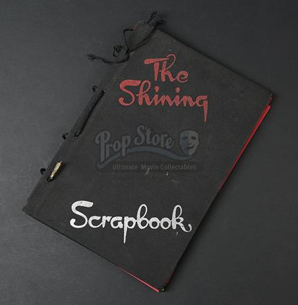 Shining The 1980 Behind The Scenes Photograph Scrapbook With