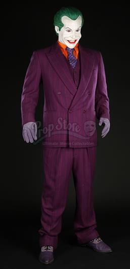 Lot # 48 M ?. The Jokeru0027s (Jack Nicholson) Costume  sc 1 st  Prop Store Auction & BATMAN (1989) - The Jokeru0027s (Jack Nicholson) Costume - Current price ...