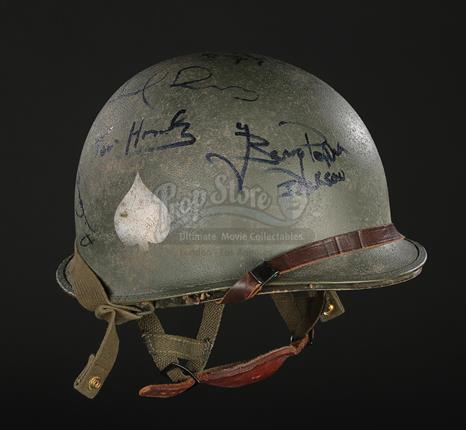 Saving Private Ryan 1998 Main Cast Autographed Paratrooper Helmet Current Price 5500
