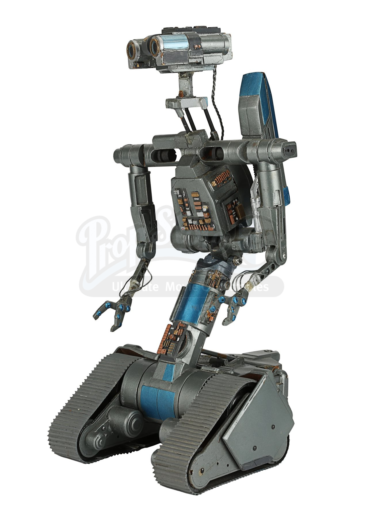 Short Circuit 2 1988 Miniature Johnny 5 Robot Model Current For Sale Lot 398 M