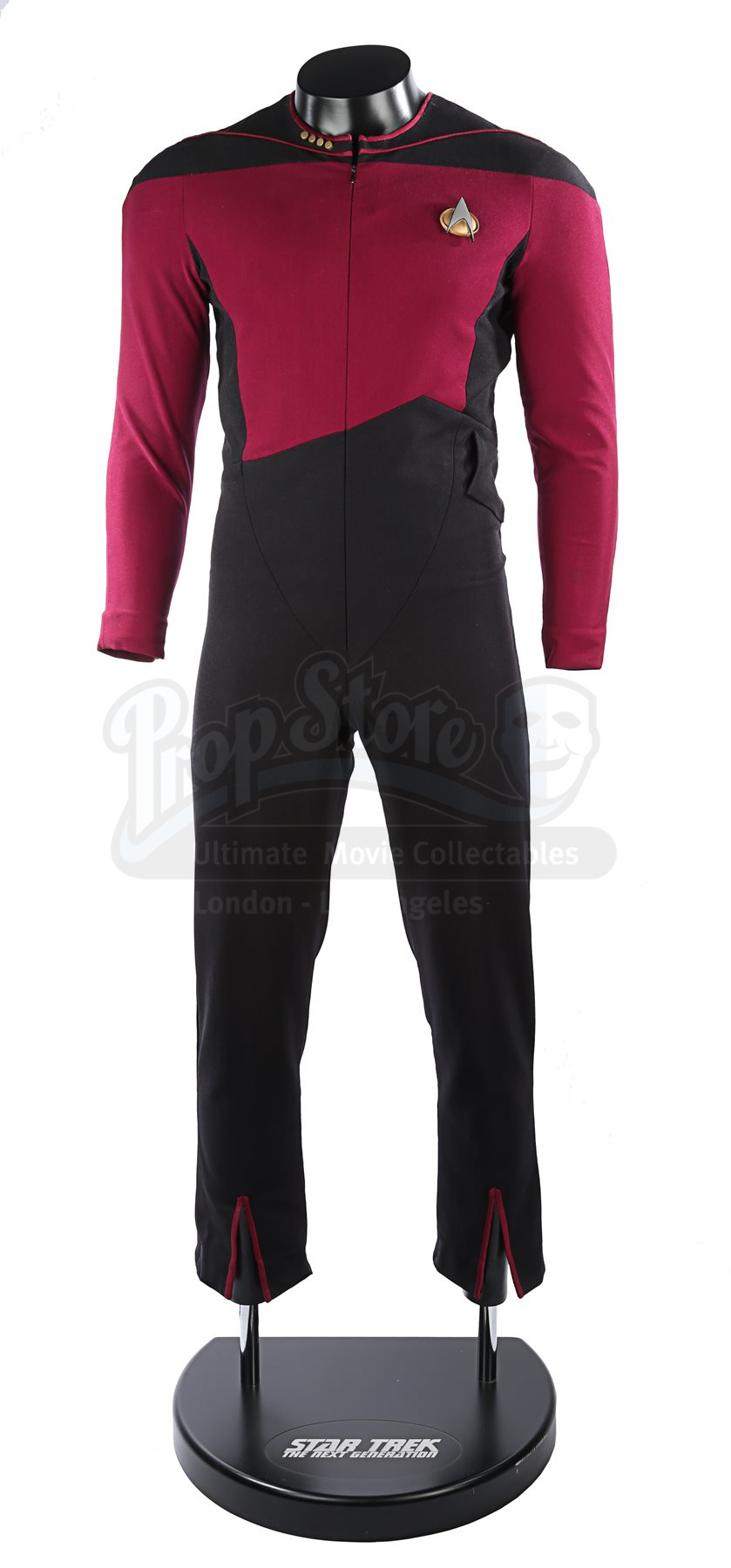 Star Trek First Contact captain Starfleet uniform cosplay costume custom made