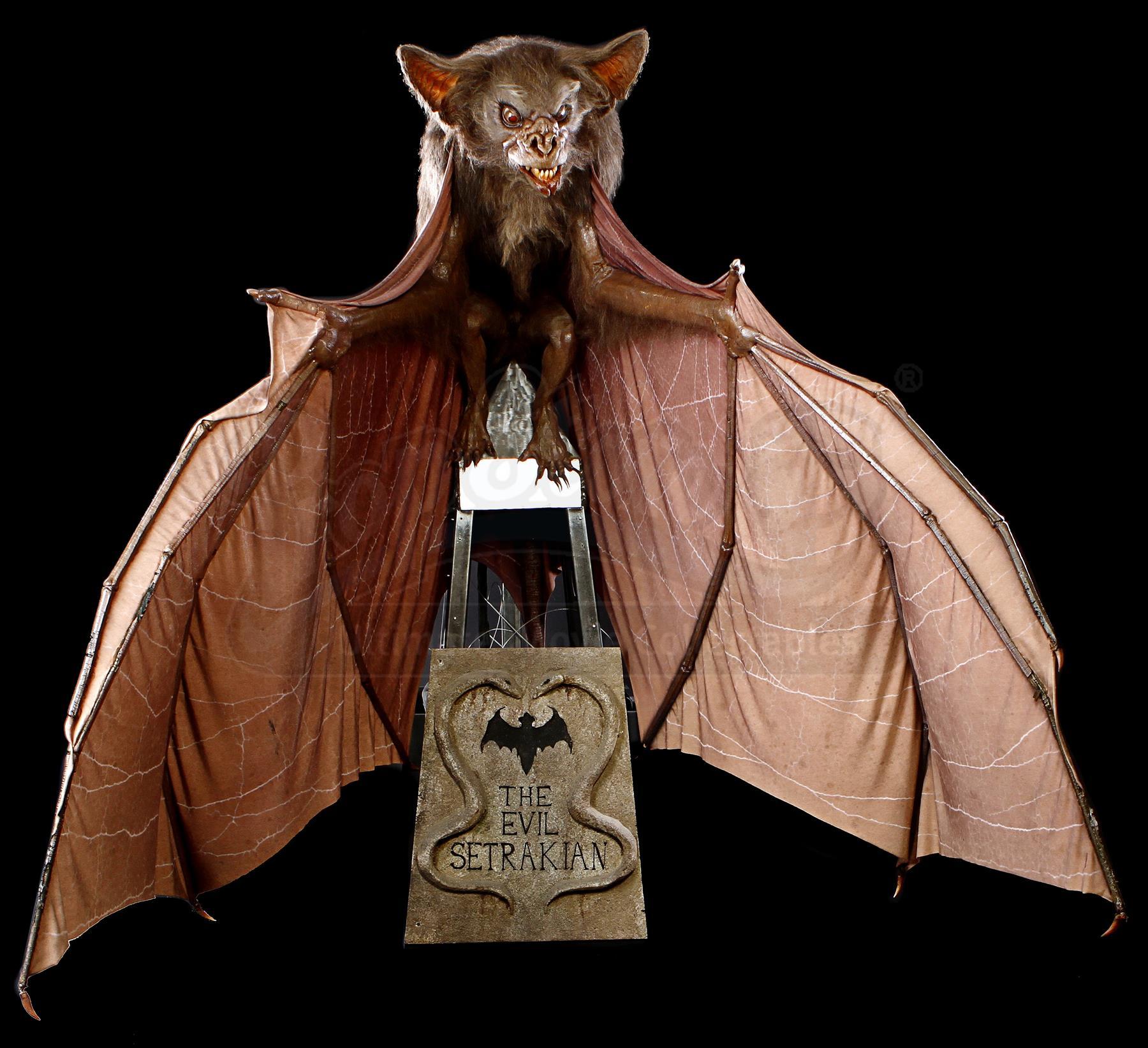 batman forever  1995  - animatronic bat puppet