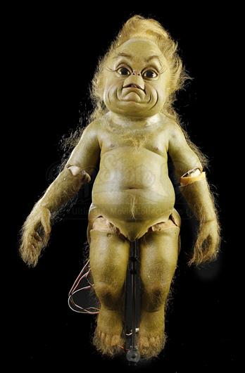 How The Grinch Stole Christmas 2000 Animatronic Baby Grinch