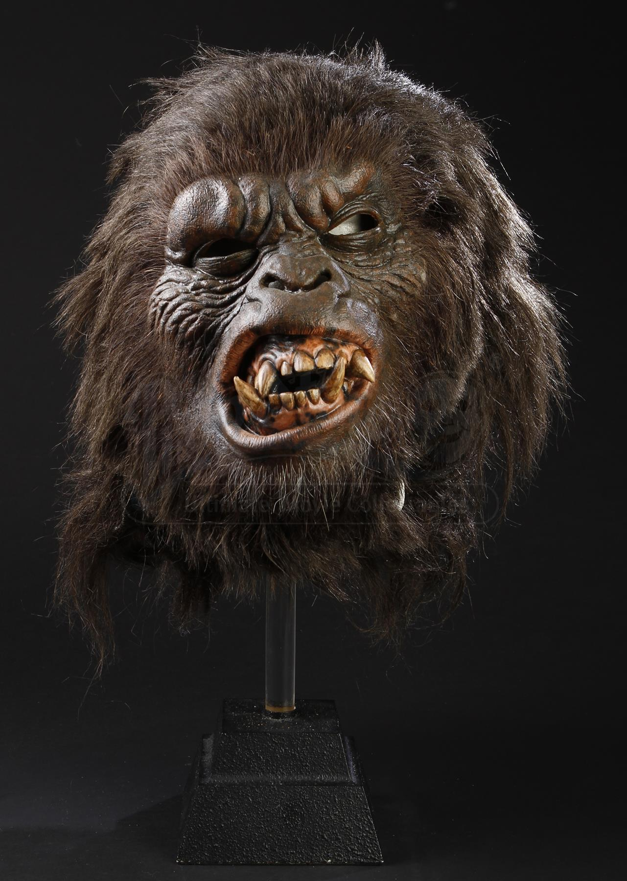 Planet Of The Apes 2001 Prototype Battle Ape Mask Current Price 1000