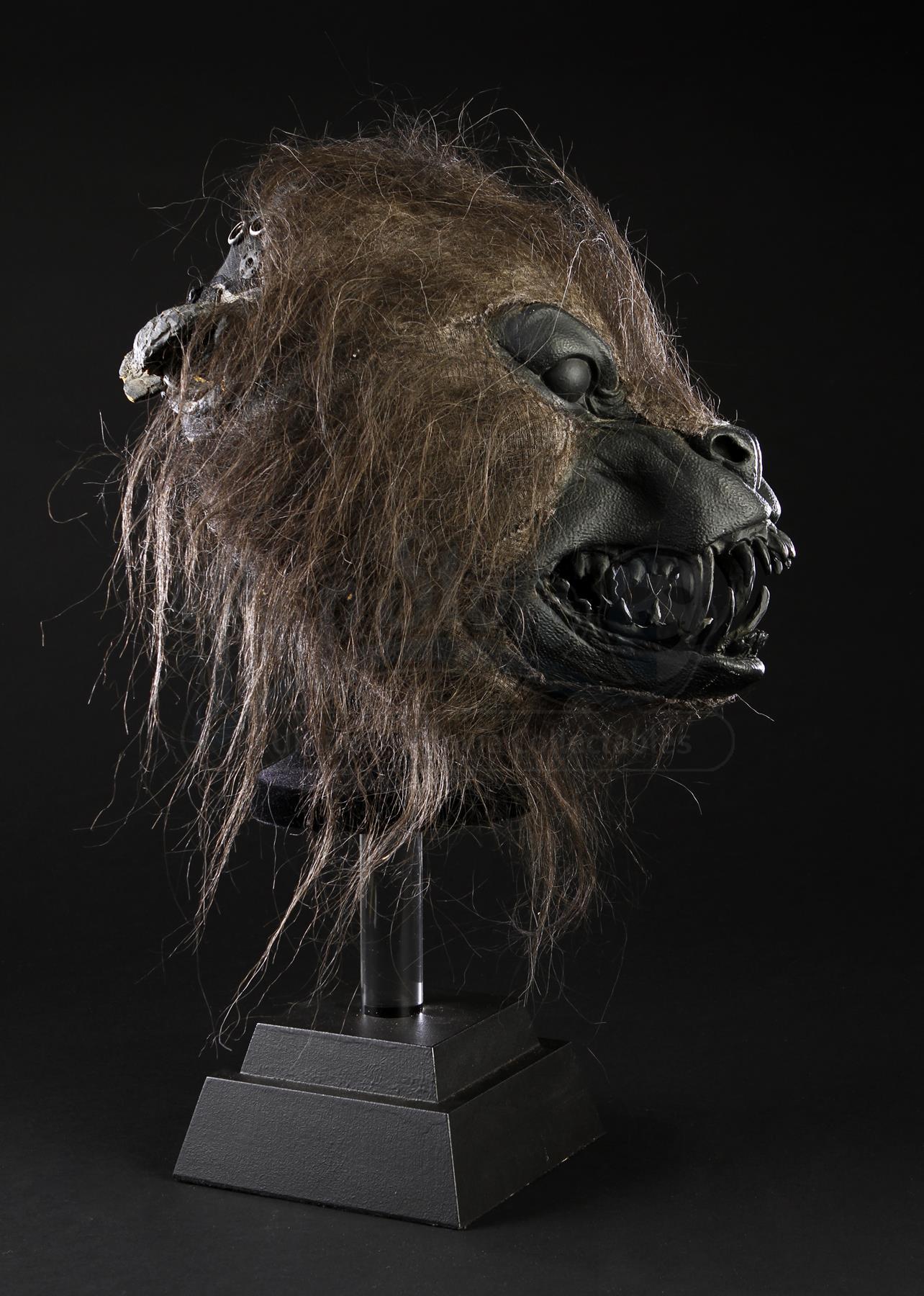 Werewolf Mock-Up Head