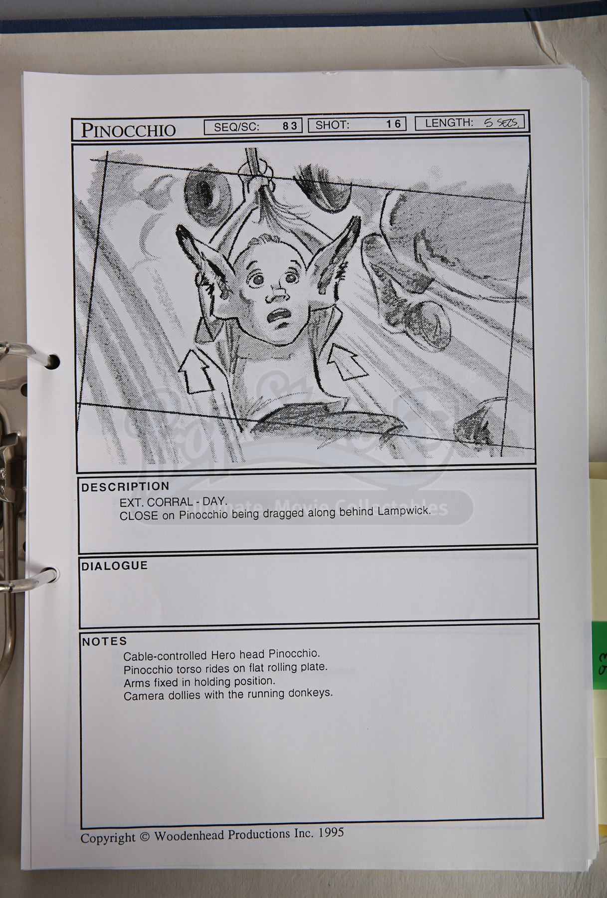 Effectiveness of a storyboard