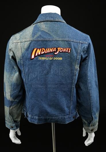 INDIANA JONES & THE TEMPLE OF DOOM - Denim Crew Jacket