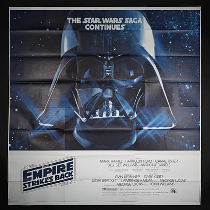 Star Wars Episode V The Empire Strikes Back 1980 Us Six Sheet International Poster Current Price 900
