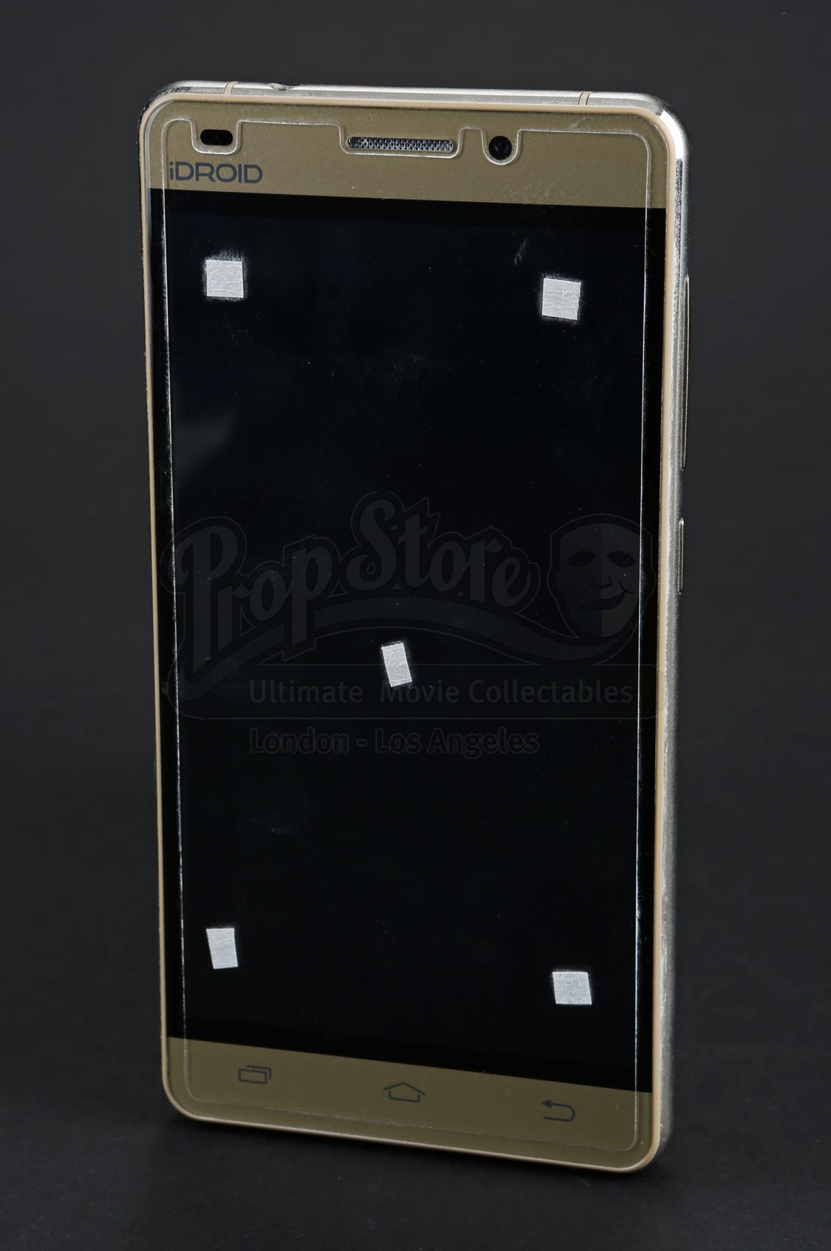 Kimberly Hart's VFX Cellphone - Current price: $325