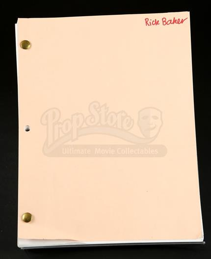 lot 223 fourth draft shooting script how the grinch stole christmas
