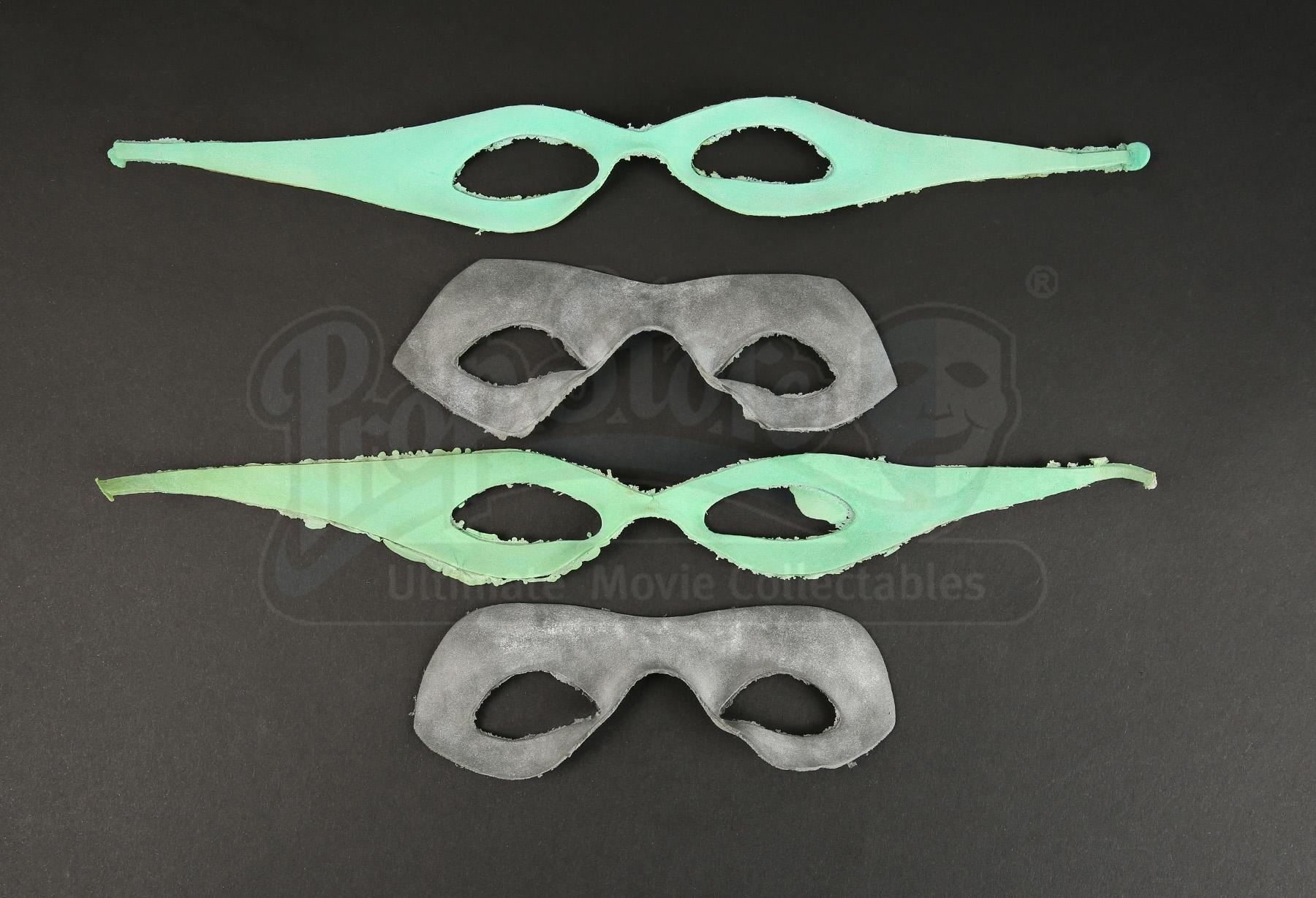 Pair Of Riddler (Jim Carrey) Masks