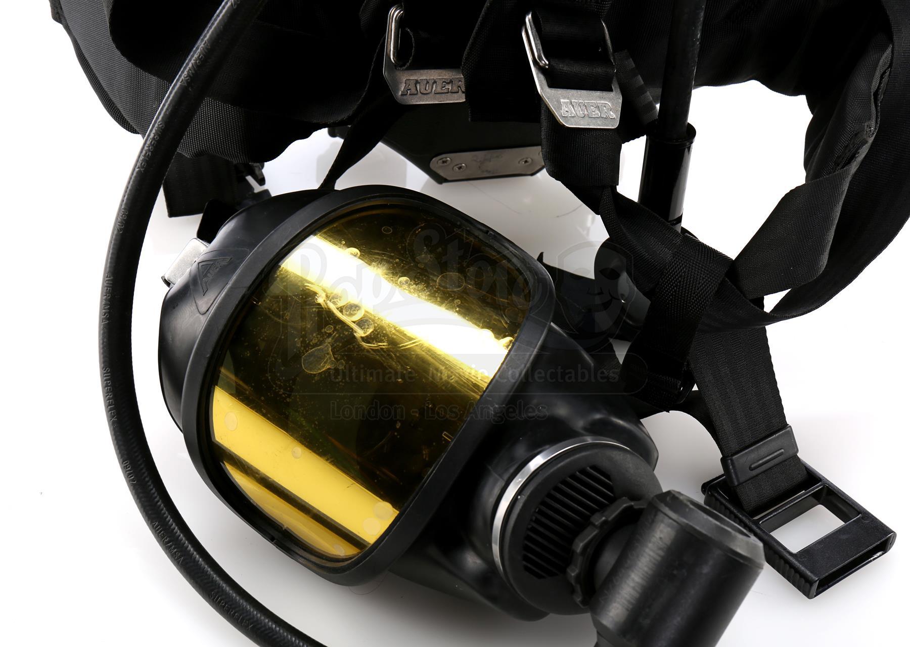 Various Episodes: BPO Hazmat Oxygen Tanks and Mask - Current price: $50