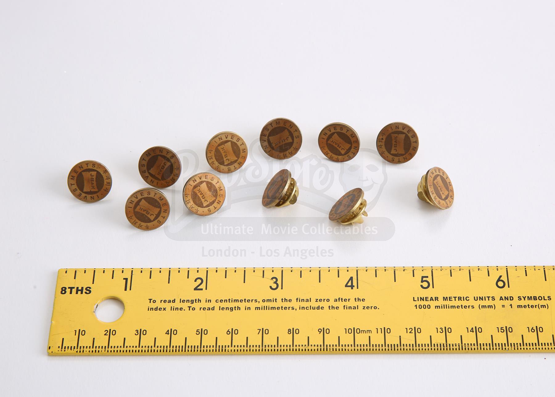 S2E11 - You Want A War?: 11 J  Bak Bodyguard Pins - Current price: $50