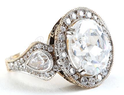 lot 325 bella swans alternate engagement ring - Twilight Wedding Ring