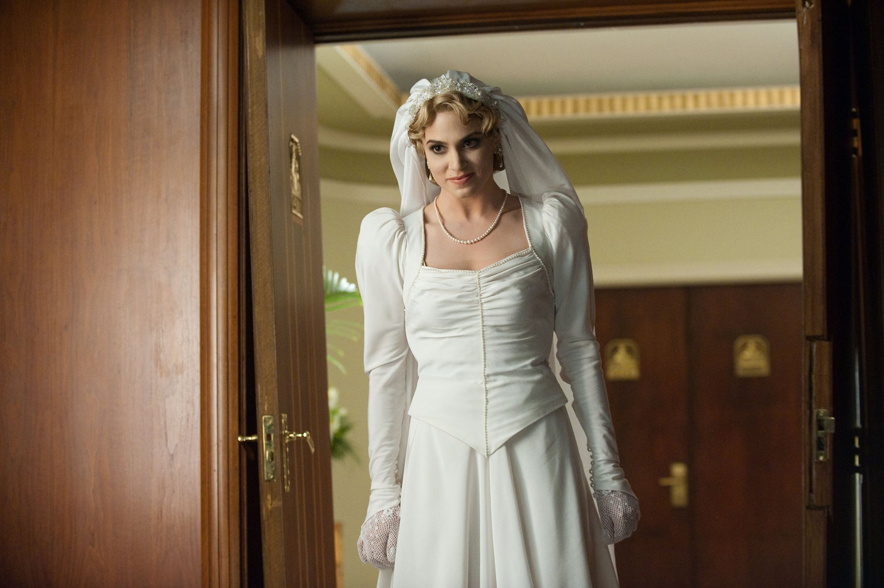 Rosalie Hale's Flashback Wedding Dress