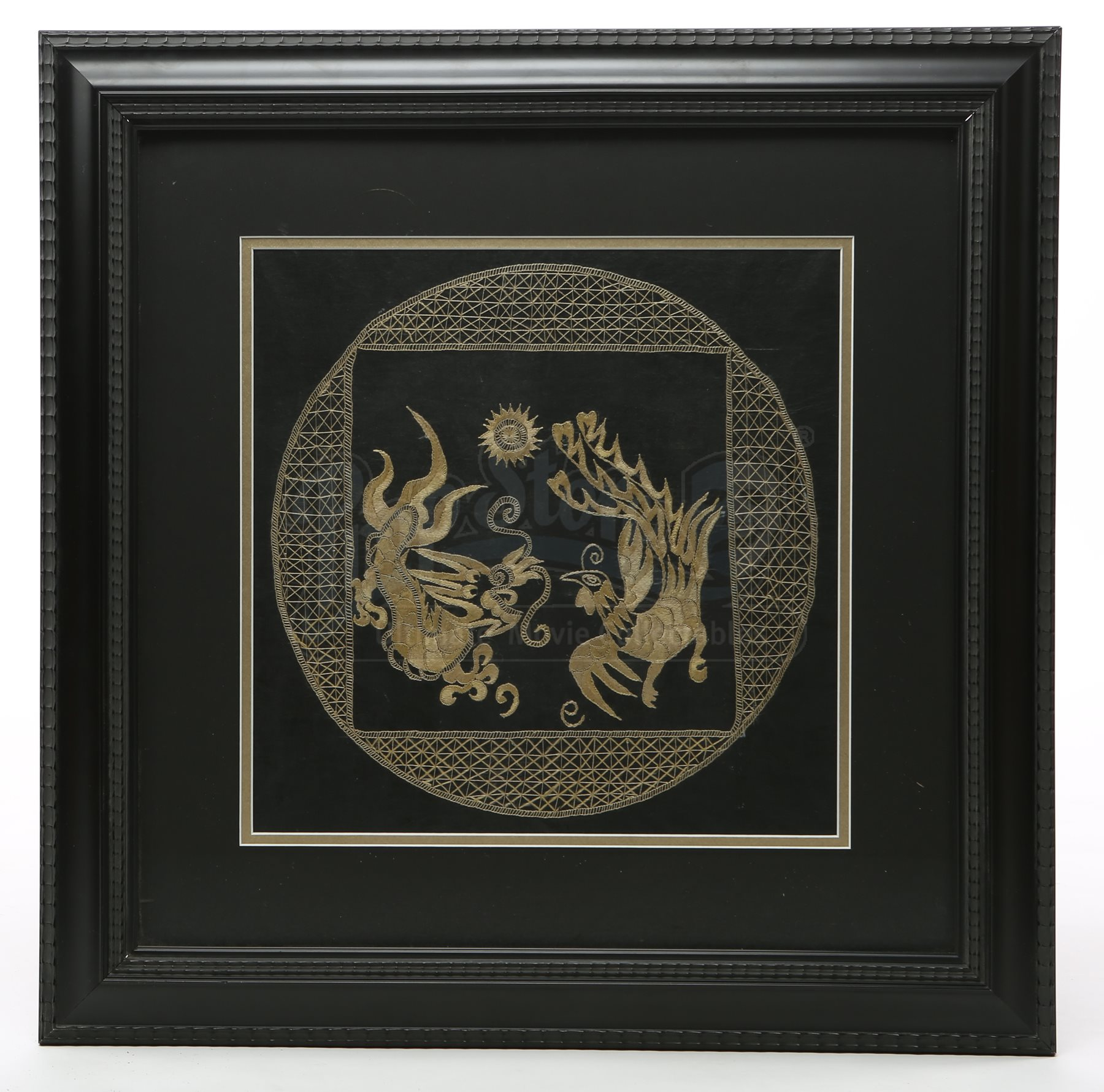 Cullen house framed dragon embroidery current price 900 for Twilight house price