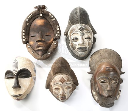 Five cullen house wall masks current price 500 for Twilight house price