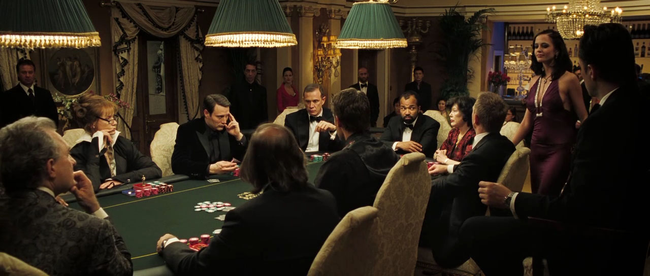 What poker do they play in casino royale