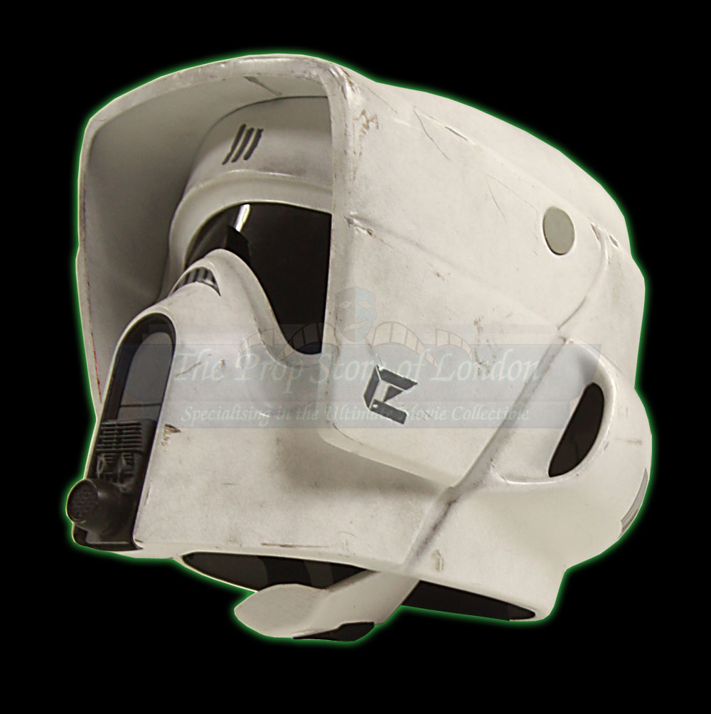 biker scout helmet � prop store ultimate movie collectables