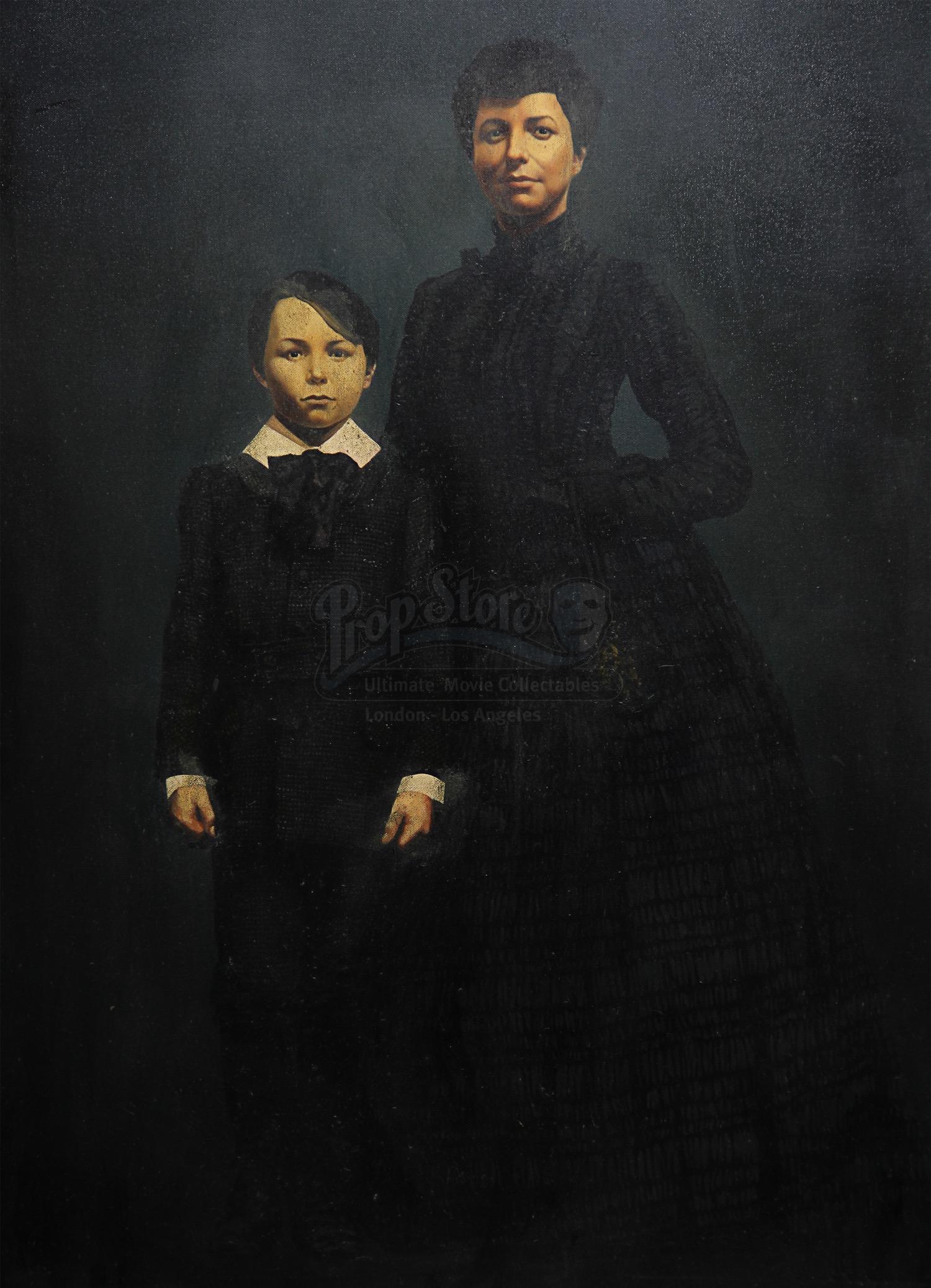 Alisa Khazanova the woman in black - portrait of alice drablow (alisa