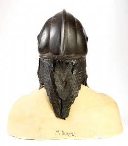 306. Attars Michael Clarke Duncan Costume Helmet and Paint Test Head 2