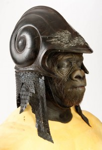 306. Attars Michael Clarke Duncan Costume Helmet and Paint Test Head 3