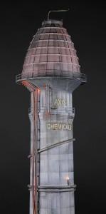 Batman- Axis Chemical Tower2