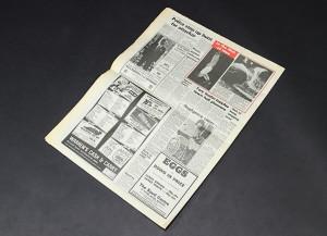 Superman 2 - White House Surrenders NewspaperB5
