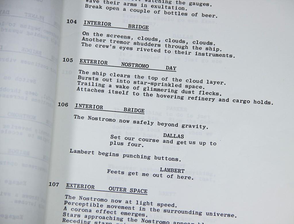 Alien- Script 11