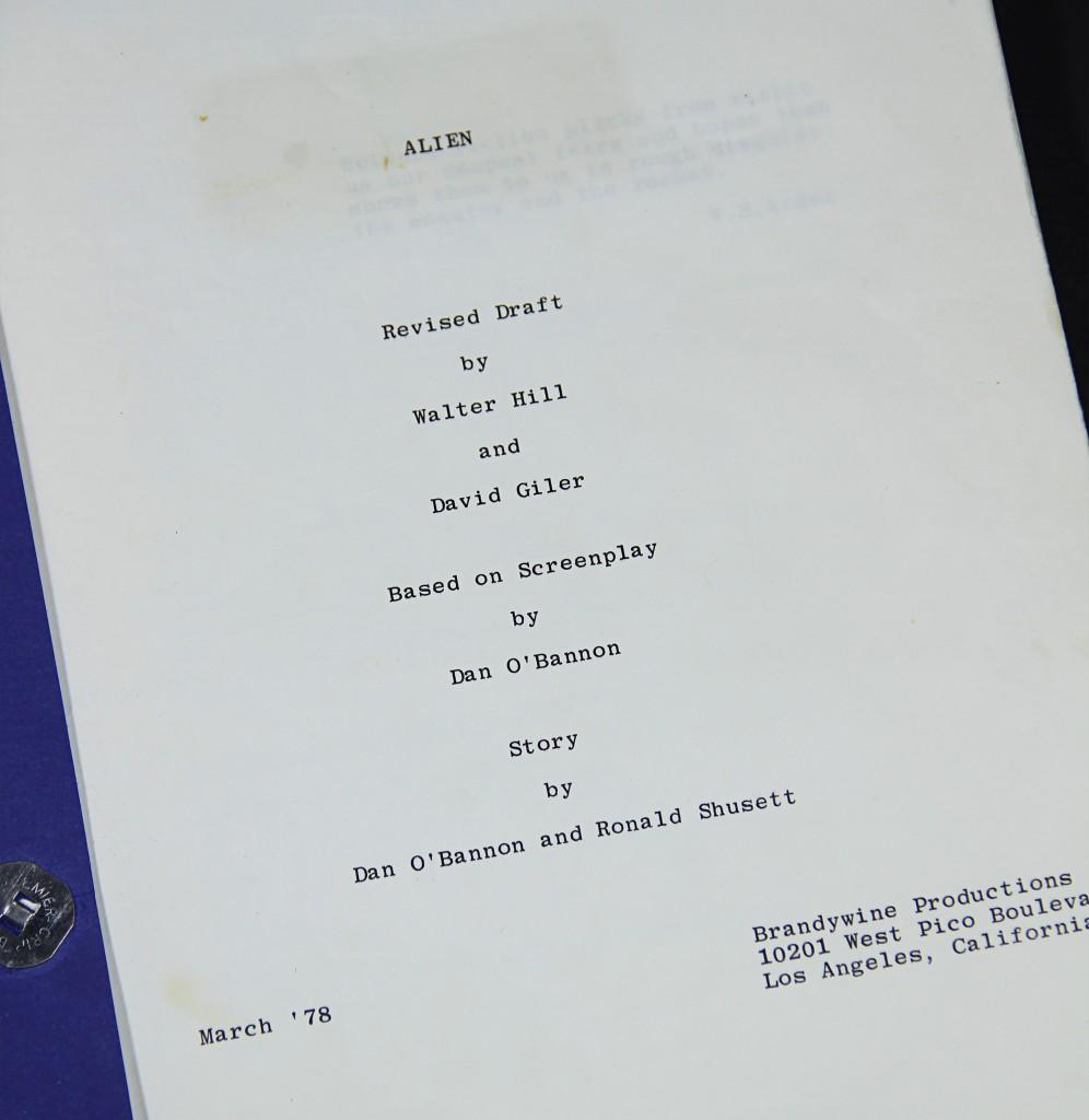 Alien- Script 3