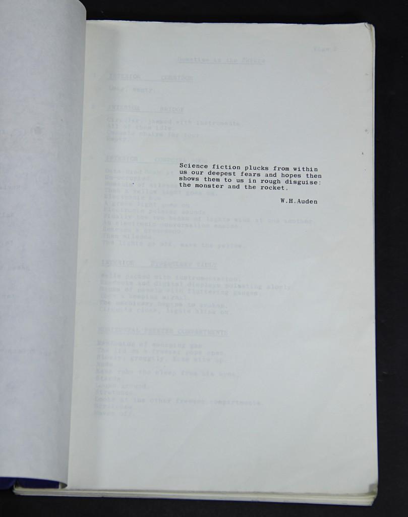 Alien- Script 4