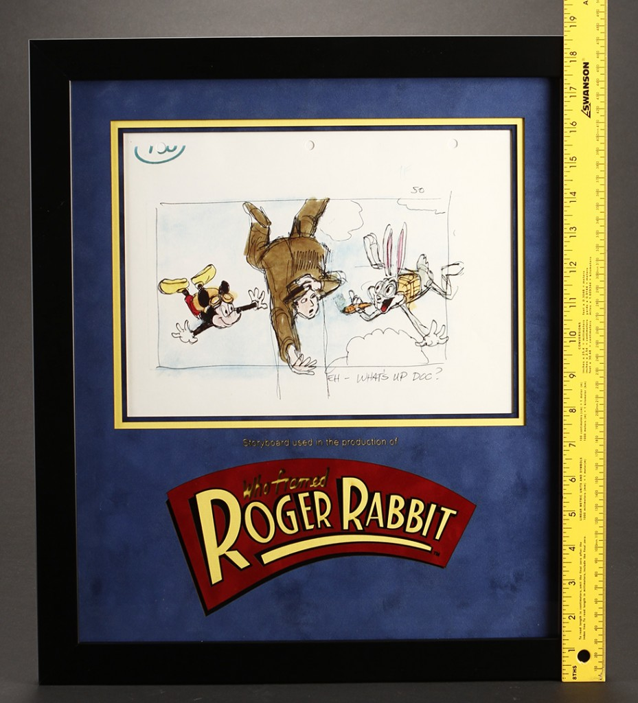 Rogger_Rabbit_Framed_SB_Mickey_&_Bugs_Falling_2_scale