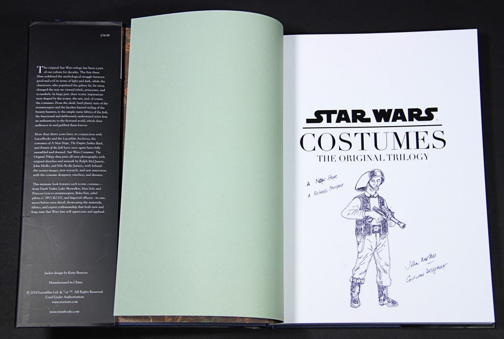 Star Wars - Costume Book Rebel Trooper1