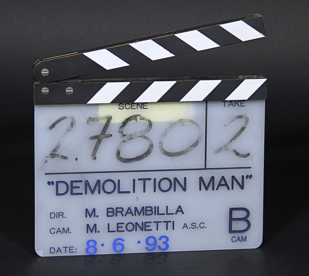 Demolition Man - Clapper 1